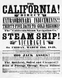 """Print out the free """"Around the Horn"""" game to learn about the Gold Rush"""