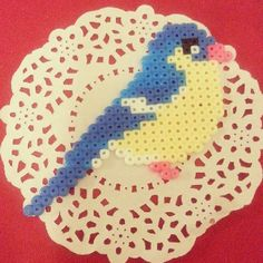 Bird perler beads by season322