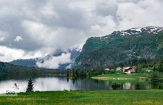 The farm on the lake by Leo_van_der_Sanden #landscape #travel