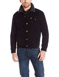 Levi's Men's Faux-Shearling Trucker Jacket