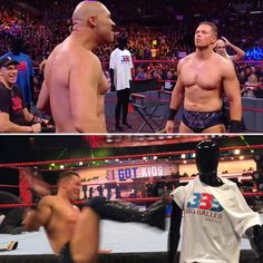 LaVar Ball went toe-to-toe with The Miz on WWE Monday Night Raw, then The Miz took out his aggression on a Big Baller Brand mannequin. (via @wwe and Arash Markazi)