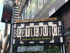 It's Showtime and Beetlejuice on Broadway is dealthy fun and totally a must see. I'm sharing my thoughts and some behind the scenes fun. Theatre Shows, Theatre Nerds, Musical Theatre, Broadway Nyc, Musicals Broadway, Empire, Ramin Karimloo, New York City Travel, Concrete Jungle