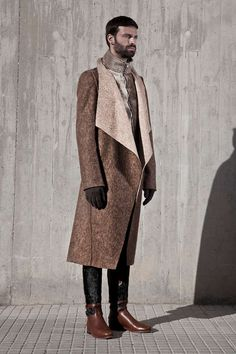 Sophisticated Nordic Catalogs - The Etxeberria Fall/Winter 2013 Lookbook is Winter Ready (GALLERY)