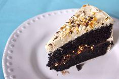 Dark Chocolate Butterscotch Crunch Cake — The Batter Thickens