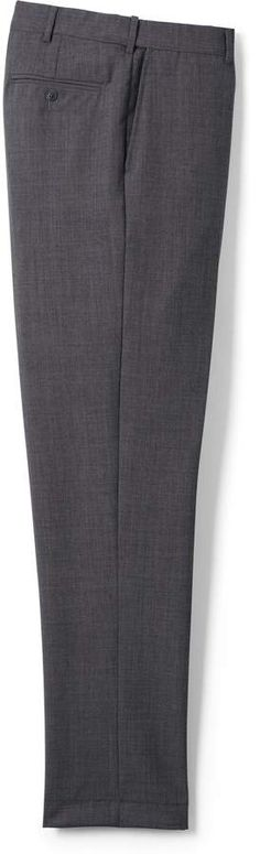 Try our Men's Big & Tall Comfort Waist Year'rounder Wool Trousers at Lands' End. Mens Big And Tall, Big & Tall, Tall Pants, Dress Trousers, Wool Dress, Lands End, Dresses, Fashion, High Waist Pants