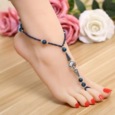 Foot Pics, Cute Toes, Pretty Toes, Feet Soles, Women's Feet, Anklet Designs, Beach Feet, Ankle Jewelry, Beaded Anklets