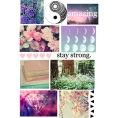 Tumblr style binder cover made by me on polyvore. | •Diy ...