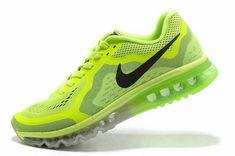 sale retailer 311dc b93eb Cheap Priced 2018 Nike Air Max 2014 Volt Flash Lime Black Silver