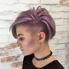 Try easy Short Undercut Hairstyles 221172 20 Inspiring Pixie Undercut Hairstyles using step-by-step hair tutorials. Check out our Short Undercut Hairstyles 221172 20 Inspiring Pixie Undercut Hairstyles tips, tricks, and ideas. Undercut Hairstyles Women, Short Hair Undercut, Pixie Hairstyles, Short Hair Cuts, Cool Hairstyles, Short Pixie, Pixie Haircuts, Asymmetrical Pixie, One Side Shaved Hairstyles
