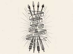 Arrows by Damian King Following