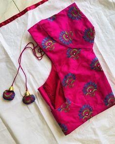 Best Blouse Designs, Simple Blouse Designs, Stylish Blouse Design, Bridal Blouse Designs, Silk Kurti Designs, Pattu Saree Blouse Designs, Embroidery Suits Design, Hand Embroidery, Embroidery Designs