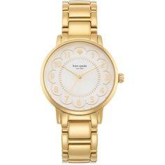 Kate Spade New York Gramercy Goldtone Stainless Steel Bracelet Watch