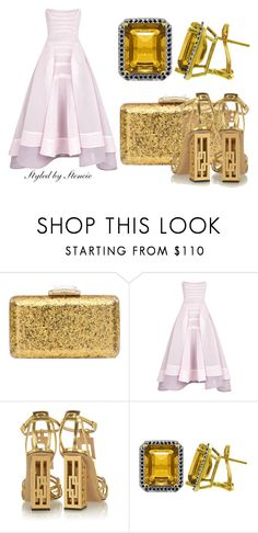 """""""The Jewel"""" by stencie on Polyvore featuring KOTUR, Maticevski, Charlotte Olympia and Galaxy Gold"""