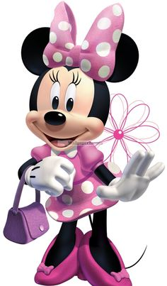 Mickey & Minnie Mouse | Mickey Mouse Clubhouse Minnie Loves to Shop Wall Decal main product ...