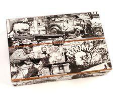 Punk Rock Jesus Comic Book Cigar Box by Paper Vs. Glue