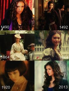 Katherine  -- I've honestly started to like her more than Elena. Especially after seeing her with Nadia.