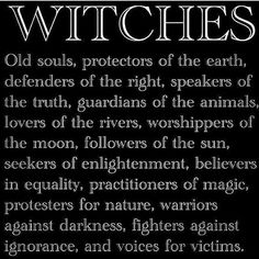 #WITCHES #Creed  #PROTECTORS of #EARTH  <3