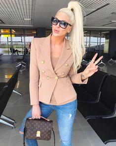 "14.6k Likes, 478 Comments - JELENA KARLEUŠA (@karleusastar) on Instagram: ""Today's outfit<3"""