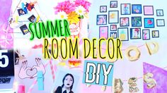 Summer Room Decor DIY AFFORDABLE, FUN & EASY! Anyone can do it!  English: https://youtu.be/92FHOls4ZUU Español: https://youtu.be/92FHOls4ZUU