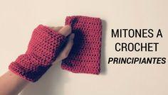 MITONES A CROCHET PARA PRINCIPIANTES