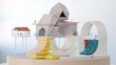 Design, Bitches envisions assortment of pavilions for new park concept System Architecture, Concept Architecture, Architecture Models, 3d Design, Urban Design, Arch Model, Dezeen, Office Interiors, Pavilion