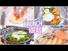3 EASY BRUNCH IDEAS! - YouTube