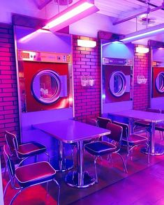 gambar purple, aesthetic, and neon Purple Aesthetic, Retro Aesthetic, Aesthetic Photo, Aesthetic Pictures, Photography Aesthetic, Vaporwave, Photowall Ideas, Deco Restaurant, Café Bar