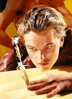 Leonardo Di Caprio by David LaChapelle