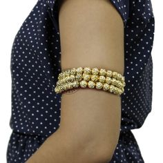 The SHANA ARMLET  by Indiatrend. Shop Now at WWW.INDIATRENDSHOP.COM