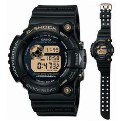 "G shock Casio ""25th anniversary DAWN BLACK Frogman limited edition GW-225A-1JF"