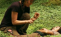 The Only Hunger Games GIF You'll Ever Need, Starring Katniss and Rue