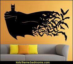 Batman Wall Vinyl Decal Movie Cartoon Sticker Art Mural Home Decor