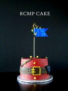 A lemon blueberry cake for a police officer's birthday. Police Cakes, Lemon Layer Cakes, Blueberry Cake, Cupcake Cakes, Cupcakes, Food N, Themed Cakes, Christmas Baking, Cake Decorating