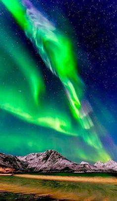 I love northern lights