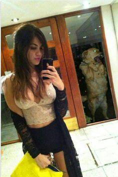 Que linda selfie!