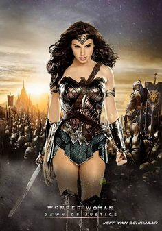 So amazing,Gal Gadot was the perfect choice for Wonder Woman role in #Batman v Superman#