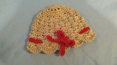 Cloche Hat with Bow Accent by MadeByMiachelle on Etsy, $12.00