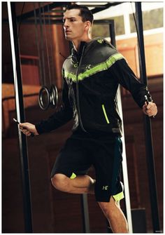 Mango Men Spring 2015 Sporty Active Workout Fashions 001 Mango Men Gets Sporty with Spring 2015 Workout Fashions Men's Activewear, Gym Style, Sporty Style, Athletic Men, Athletic Fashion, Sport Fashion, Fitness Fashion, Mens Fashion, Running Fashion