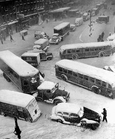 Thanksgiving Snow Storm 1956 Erie PA | The Ghost of Snowstorms Past: Remembering The Blizzard of 1978