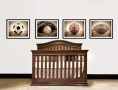 Vintage Sports Nursery Decor traditional accessories and decor