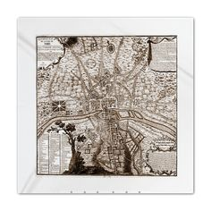 thrilled to have SOLD this Antique Medieval Map of Paris Queen Duvet from  my French themed #cafepress @CafePress