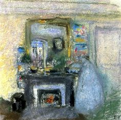 The Artist's Mother at Chateau de Clayes Edouard Vuillard