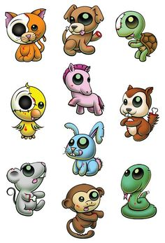 The Cutest Animal Zombie Tattoos Ever! Don't be afraid of these cute undead Pettoos! All they want to do is cuddle and maybe take a bite out of your delicious brains! Mmmmm brains.......... Series of 10 Tattoo designs includes: Bird - Bunny - Kitty - Chipmunk - Puppy - Monkey - Mouse - Pony - Snake - Turtle $10 for Series of 10 Temporary Tattoos Includes shipping and handling within the U.S.A. Add $2 for international shipping per order Each tattoo is printed on a 2.5 x 3.5 inch sheet Series…