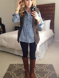 Great fall/winter outfit!