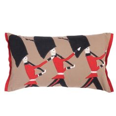 British beefeater guards pillow