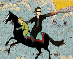 """Famous Movies In The Style Of Old Ottoman Paintings  Turkish artist Murat Palta created this portfolio for his thesis, """"combining global with local, traditional with contemporary, and adding a bit of humor""""."""