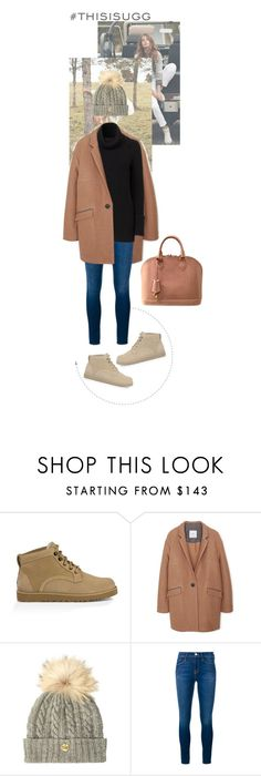 """""""Play With Prints In UGG: Contest Entry"""" by crooked-crayon ❤ liked on Polyvore featuring UGG Australia, MANGO, Holland Cooper, Frame Denim, Louis Vuitton and thisisugg"""