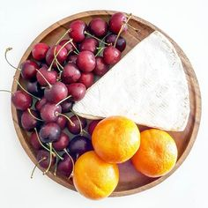 Current craving  cherries clementines and cheese. #ALittleBitOfWhatYouFancy