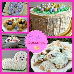 10 of my personal favorite Easter Desserts!