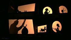 Théâtre d'ombres Omelette